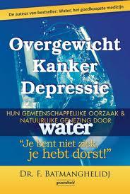 Overgewicht kanker depressie, over het belang van water bij kanker, wordt door Jeanine Slot in haar lezingen over voeding bij kanker aangeprezen.