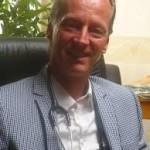 W.D. van der Vegt, arts, spreekt op congres 'Samen sterker tegen kanker' over de relatie tussen voeding en kanker