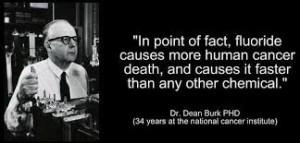 dr. Dean Burk ontdekte het verband tussen fluor en kanker